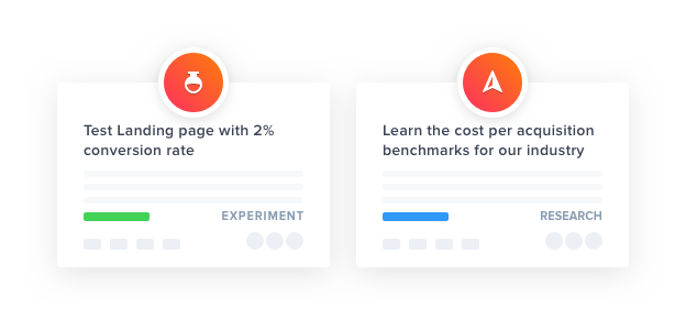 GLIDR product experiments and research UI