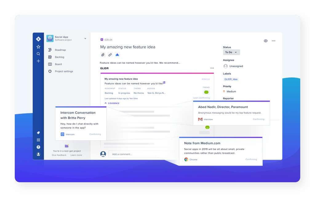 Jira ticket connection