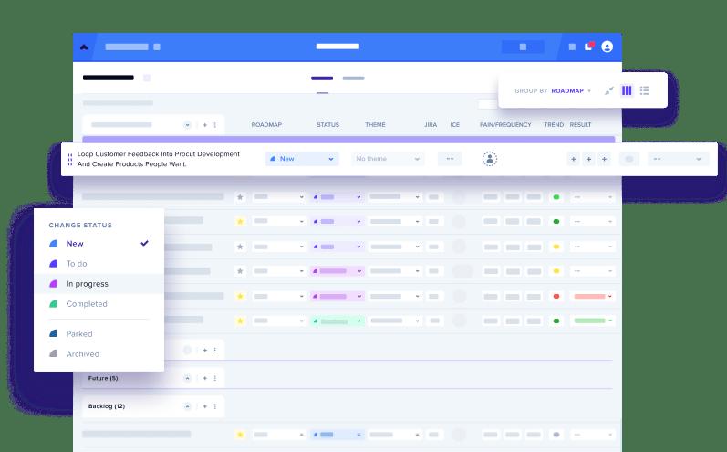GLIDR project workspace UI