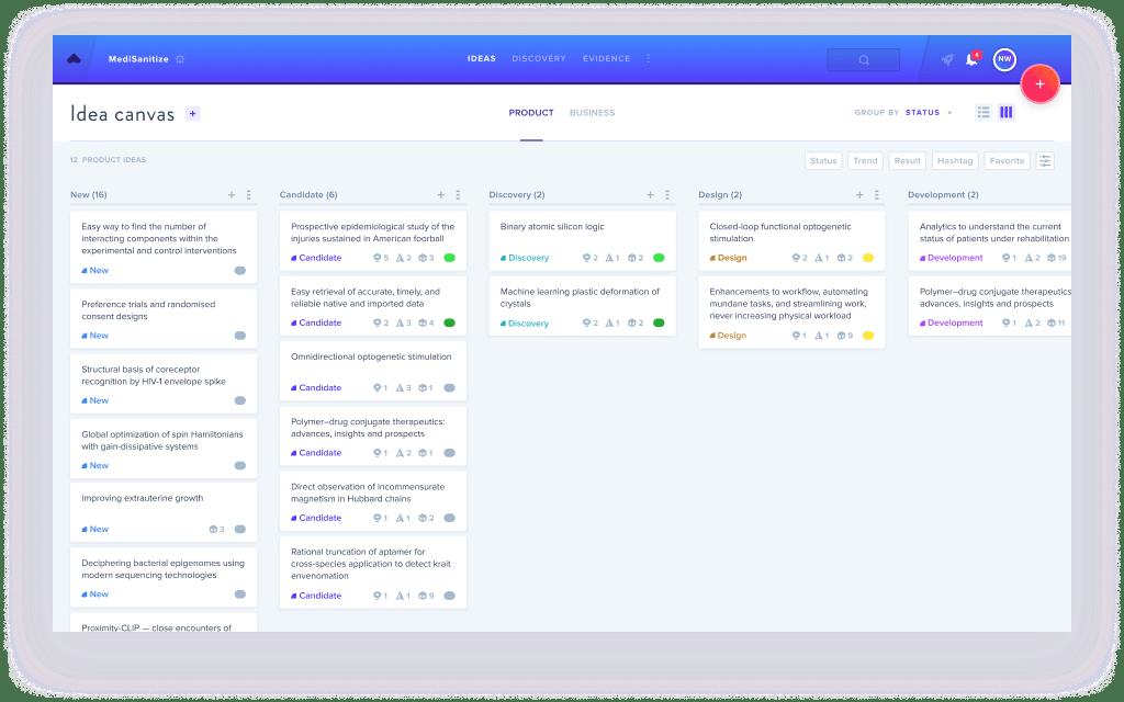 Product List Status
